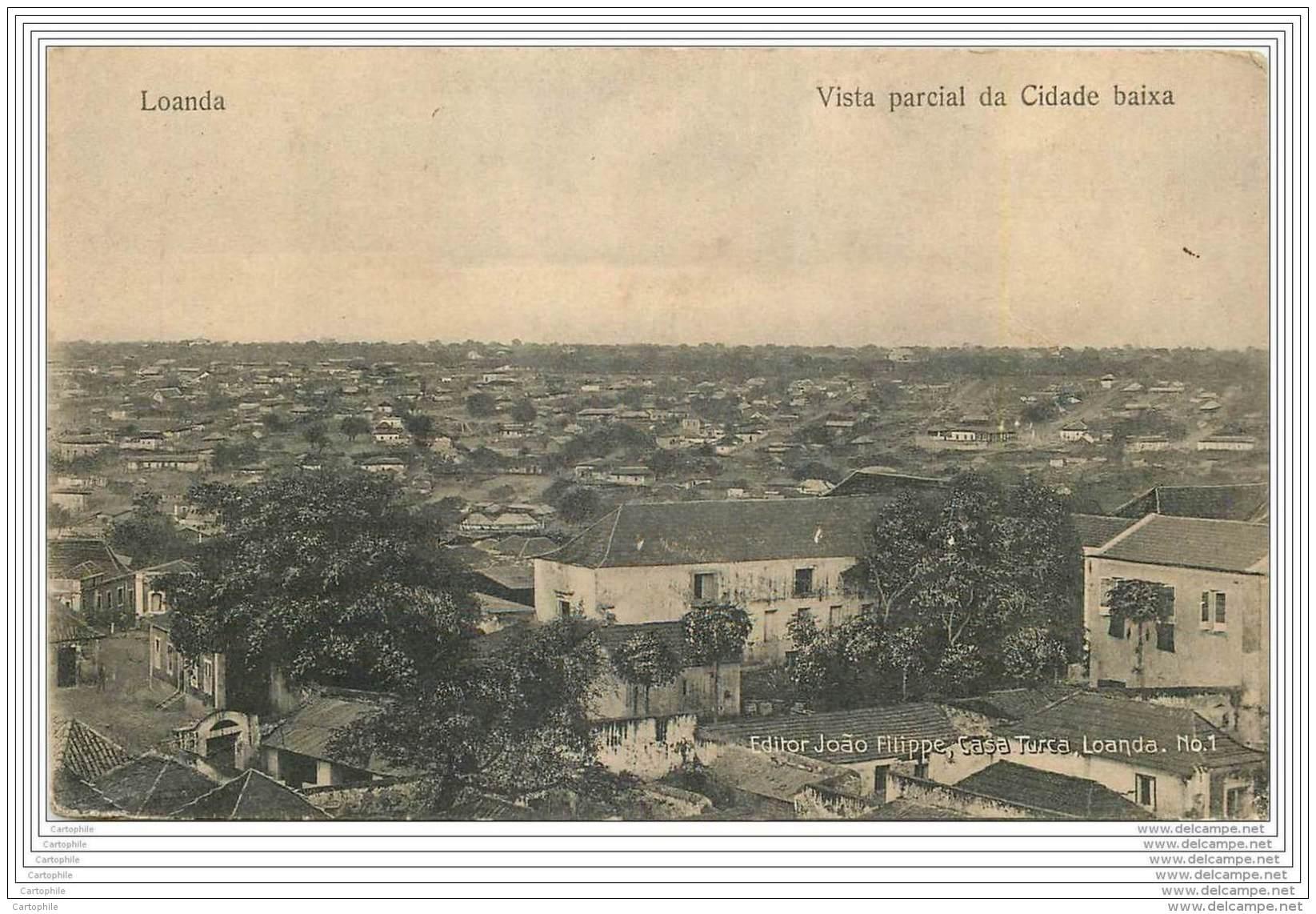 ANGOLA - Loanda - Vista Parcial Da Cidade Baixa - Angola
