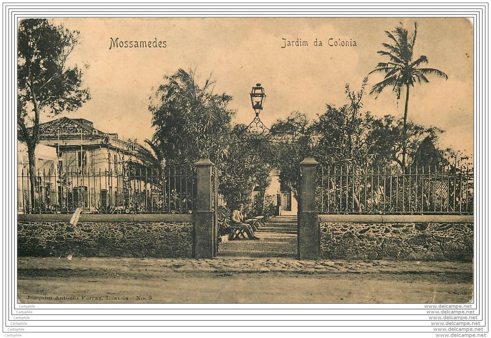 ANGOLA - Mossamedes - Jardim Da Colonia - Angola