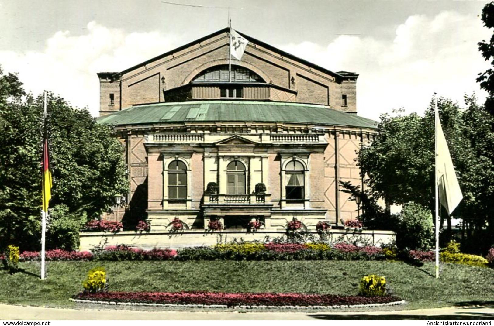 003751  Bayreuth - Richard-Wagner-Festspielhaus - Bayreuth