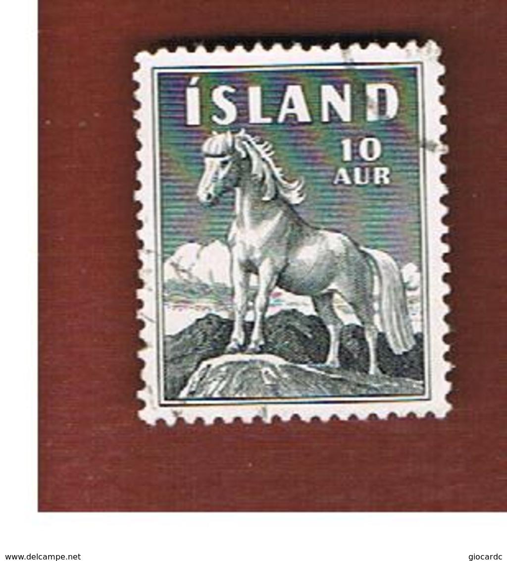 ISLANDA (ICELAND)  -  SG 355 - 1958  PONY  -   USED - 1944-... Repubblica
