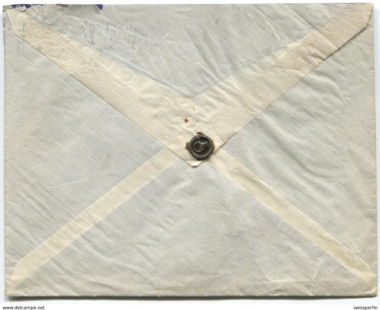 1845 - PERFIN C Auf Auslandbeleg Von BASEL - Suisse