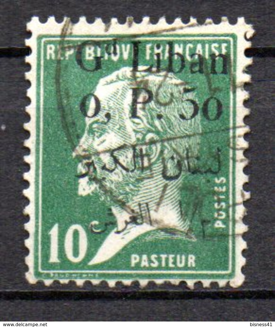 Col9  Grand Liban  Variete  :  N° 39 , Texte Arabe Different  Oblitéré  , Cote :    6,00 Euro - Great Lebanon (1924-1945)
