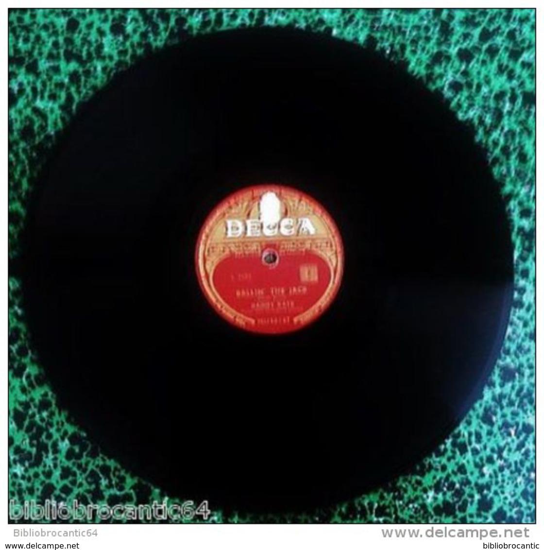 "78 Tours "" DANNY KAYE "" < BALLIN' THE JACK / ST. LOUIS BLUES < DECCA MU 60147 - 78 Rpm - Schellackplatten"