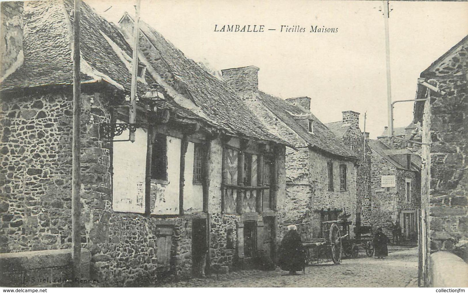 ".CPA  FRANCE 22 "" Lamballe, Vieilles Maisons"" - Lamballe"