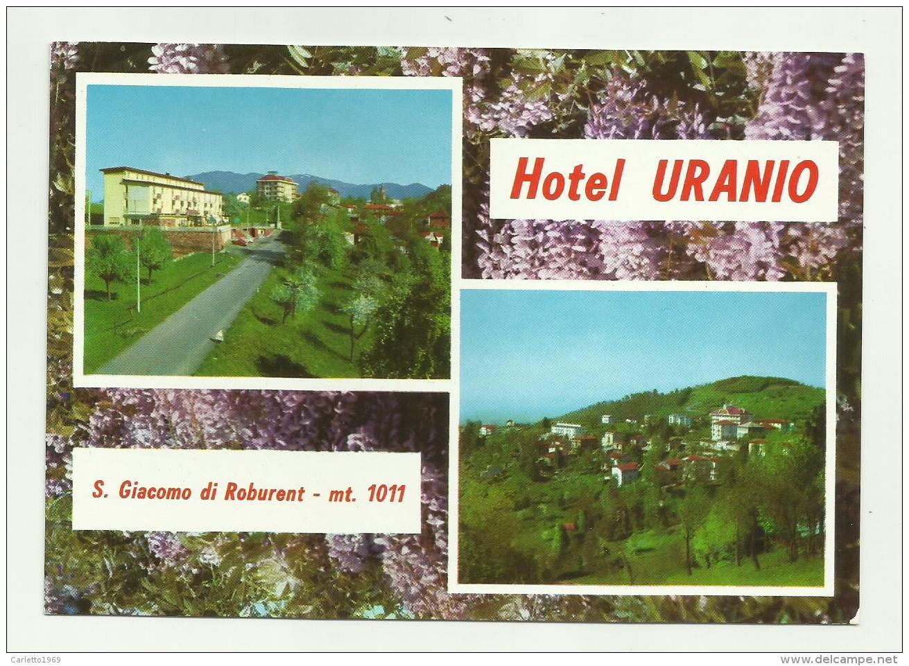 S.GIACOMO DI ROBURENT - HOTEL URANIO - NV FG - Cuneo