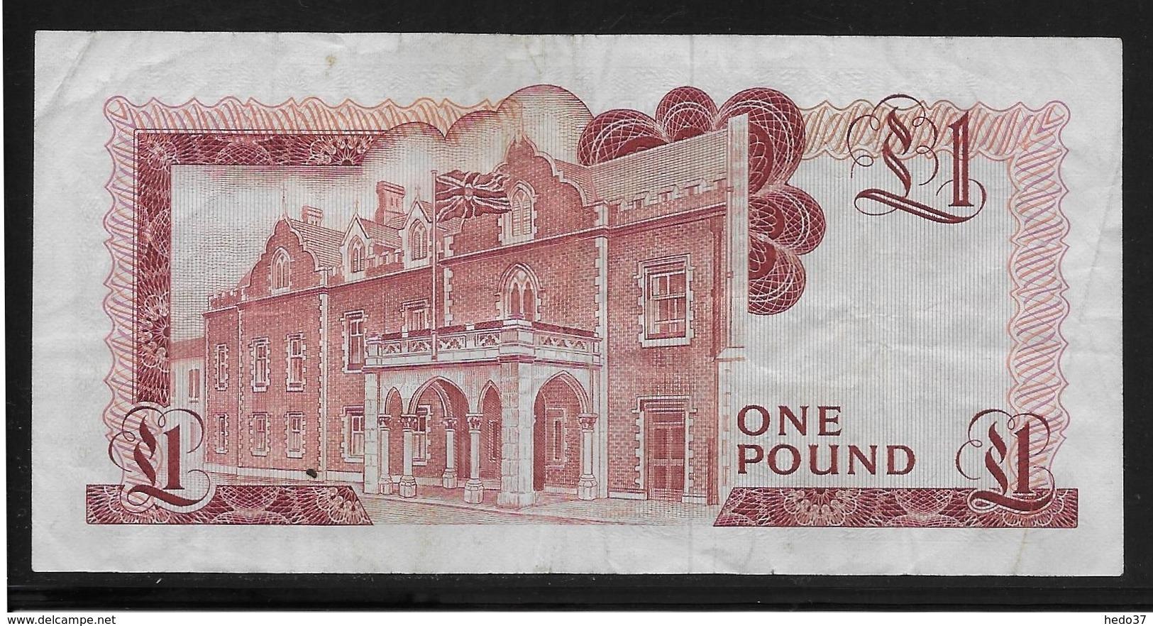 Gibraltar -  1 Pound - Pick N°20b - TTB - Gibraltar