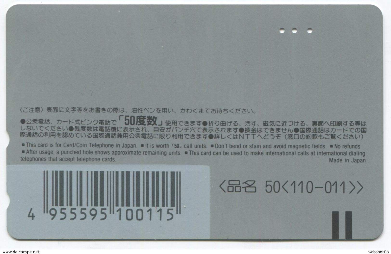 1866 - BROKEN ARROW Mit Travolta/Slater - Movie / Film - Japan Telefonkarte - Cinéma