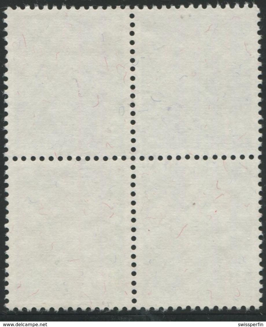 1869 - 30 Rp. Alpenveilchen - Zentrumstempel LUZERN 4 OBERGRUND 18.XII.47 - Pro Juventute