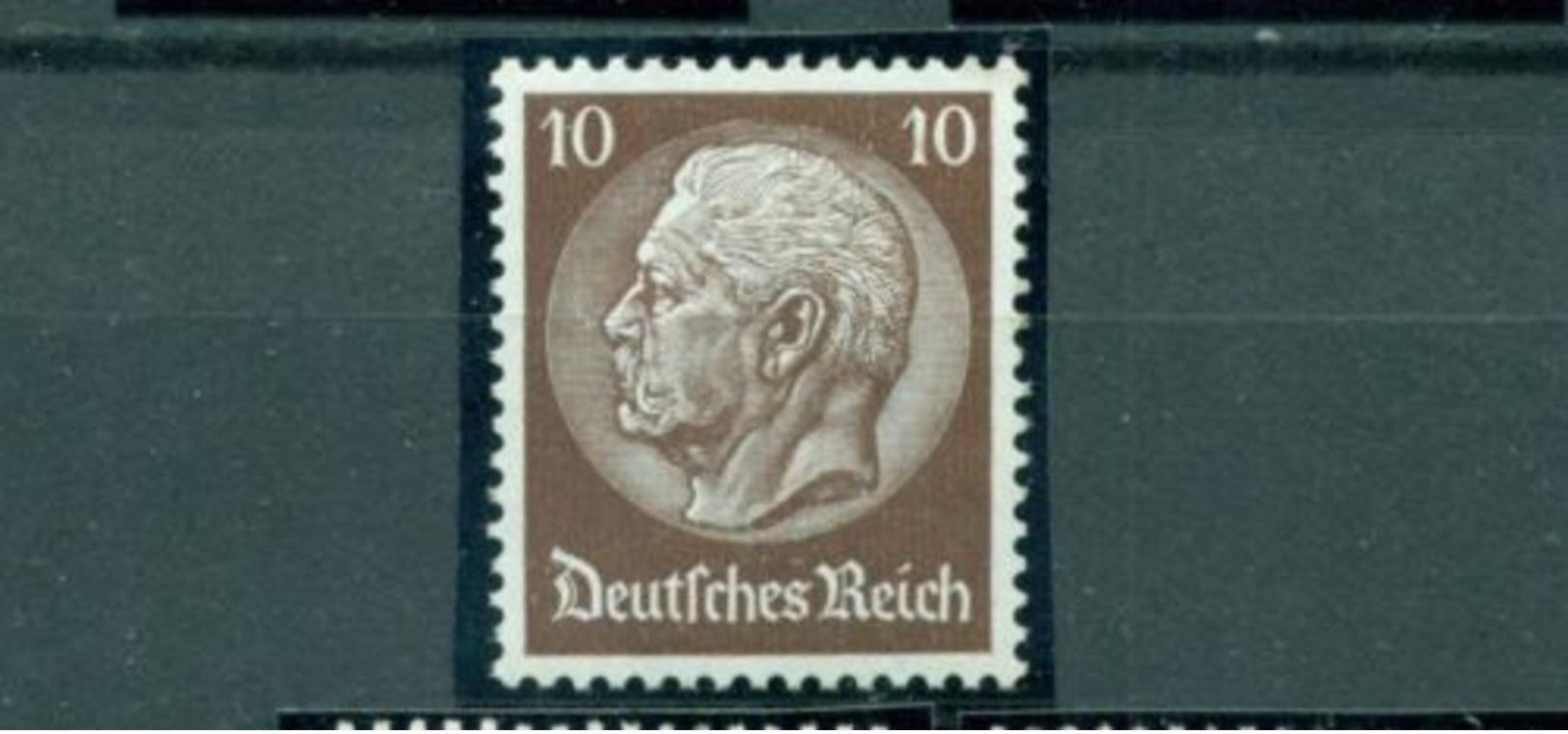 Deutsches Reich, Hindenburg, Nr. 486 Postfrisch ** - Ungebraucht