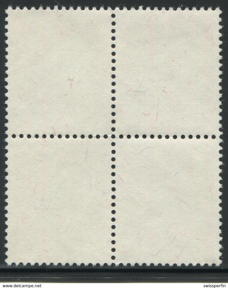 1873 - 30 Rp. Rosenkäfer - Zentrumstempel SURSEE 18.XII.57 - Pro Juventute