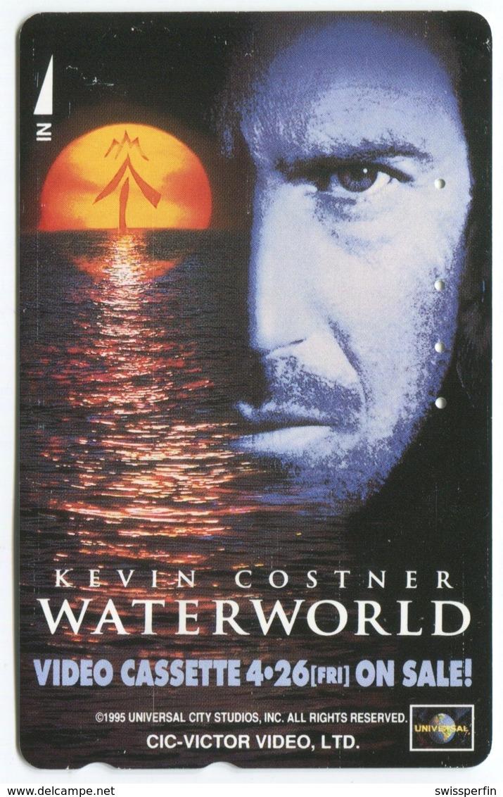 1879 - WATERWORLD Mit Kevin Costner - Movie / Film - Japan Telefonkarte - Cinéma