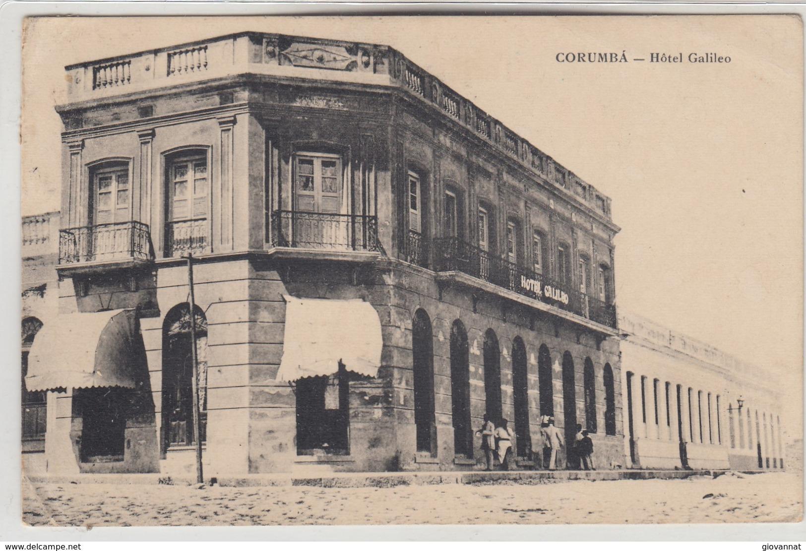 Corumba-hotel Galileo - Brésil