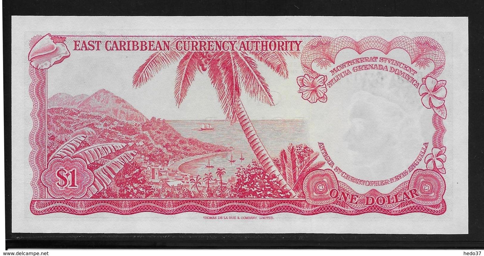 Caraïbes Orientales -  1 Dollar - Pick N°13f - NEUF - Caraïbes Orientales
