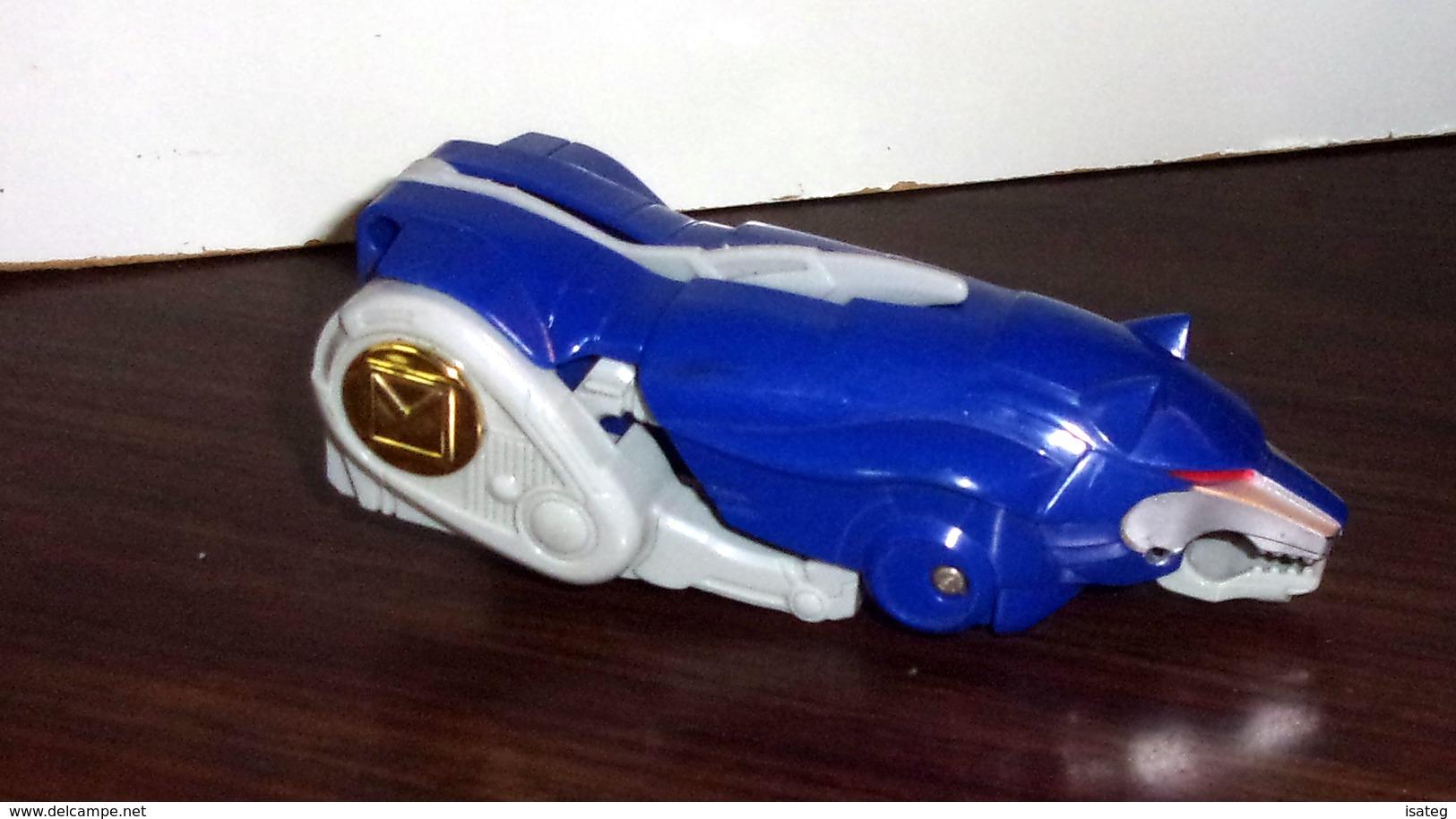 Figurine Vintage Power Rangers Megazord - LOUP - WOLF - Power Rangers