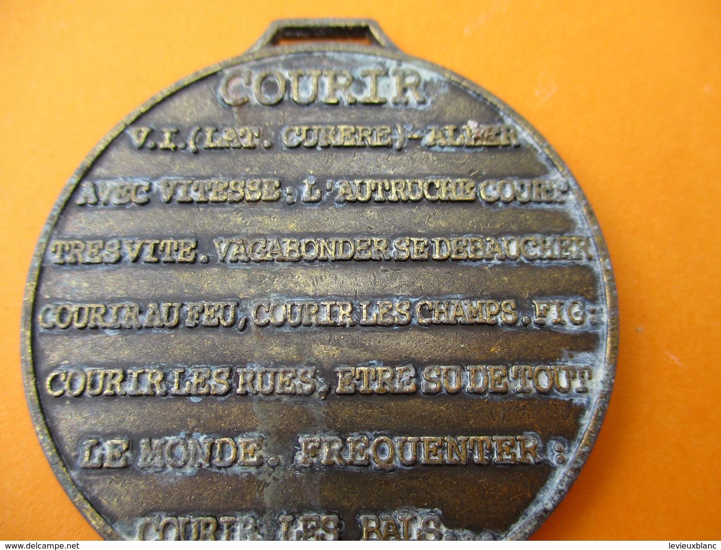 Marche /21éme PARIS-VERSAILLES/1976-1996/ Courir/Bronze Nickelé /Arthus Bertrand/ Fabrice/1996                    SPO260 - Sports