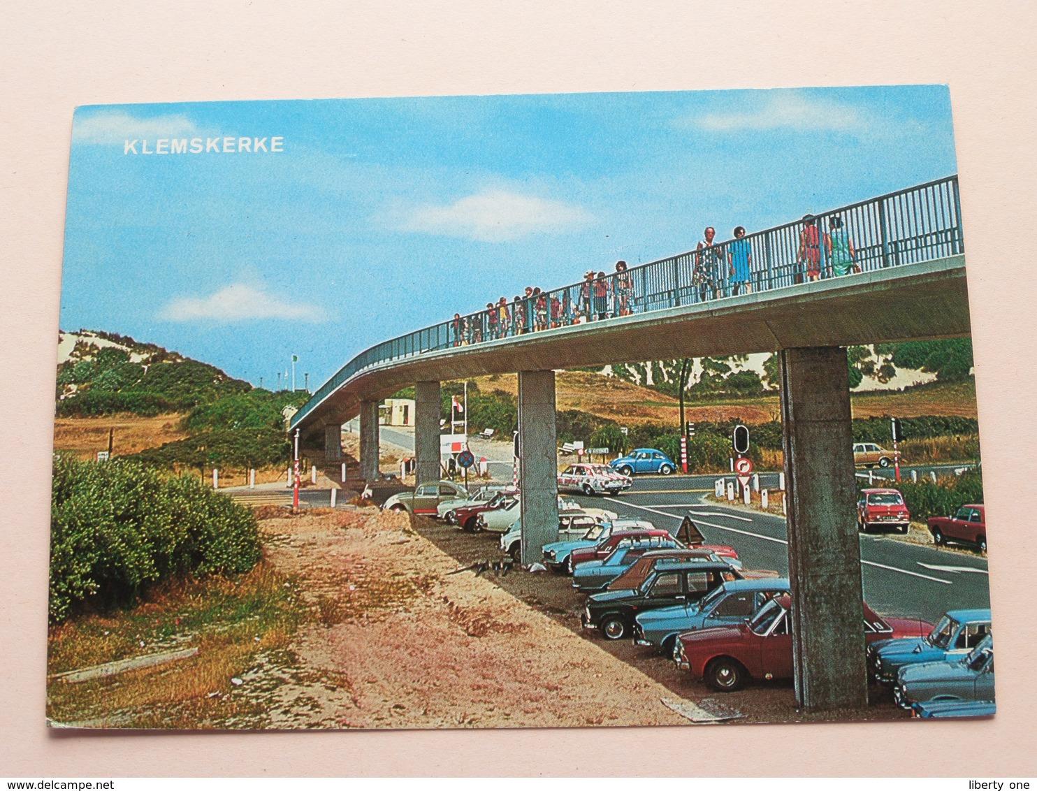 KLEMSKERKE Wandelbrug Naar Het Strand / Promenade ( Van Mieghem) Anno 1978 ( Zie Foto Details ) ! - De Haan