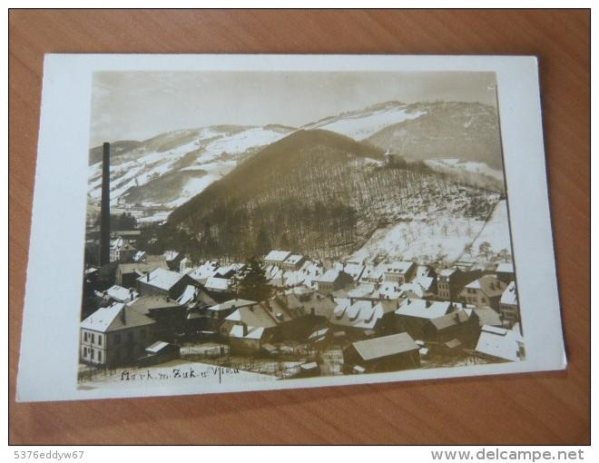 CPA. Carte-photo. Sainte-Marie-aux-Mines. Alsace. Haut-Rhin - Livres, BD, Revues