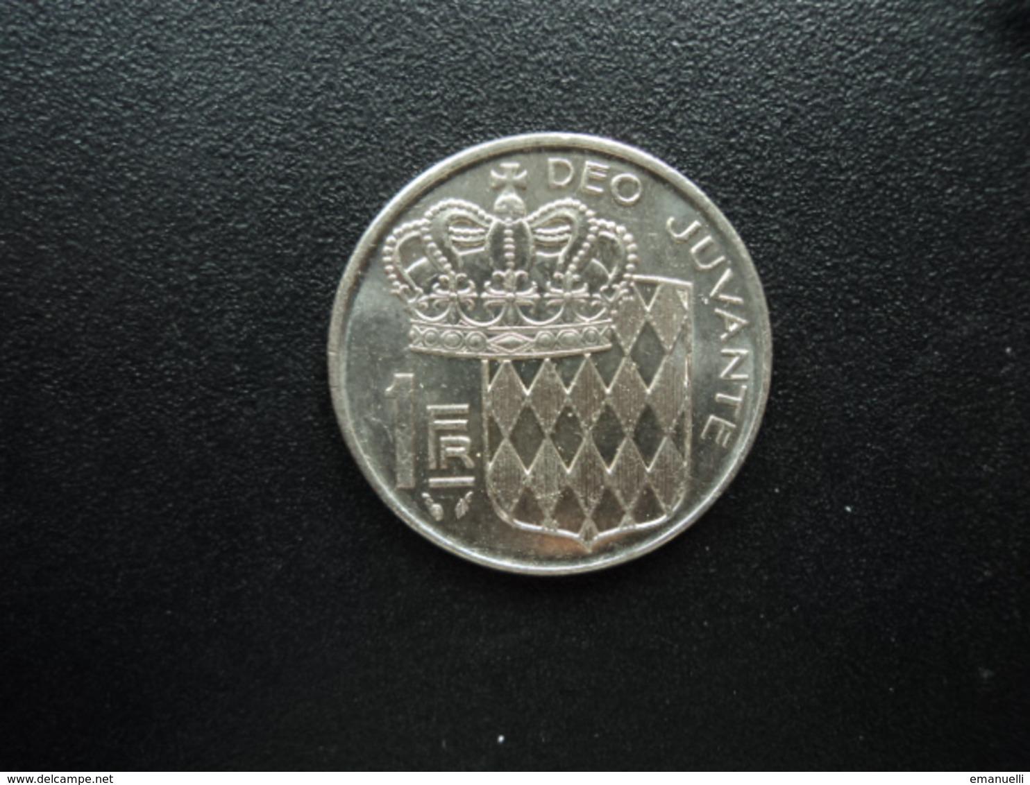 MONACO : 1 FRANC  1979   KM 160    Non Circulé - Monaco