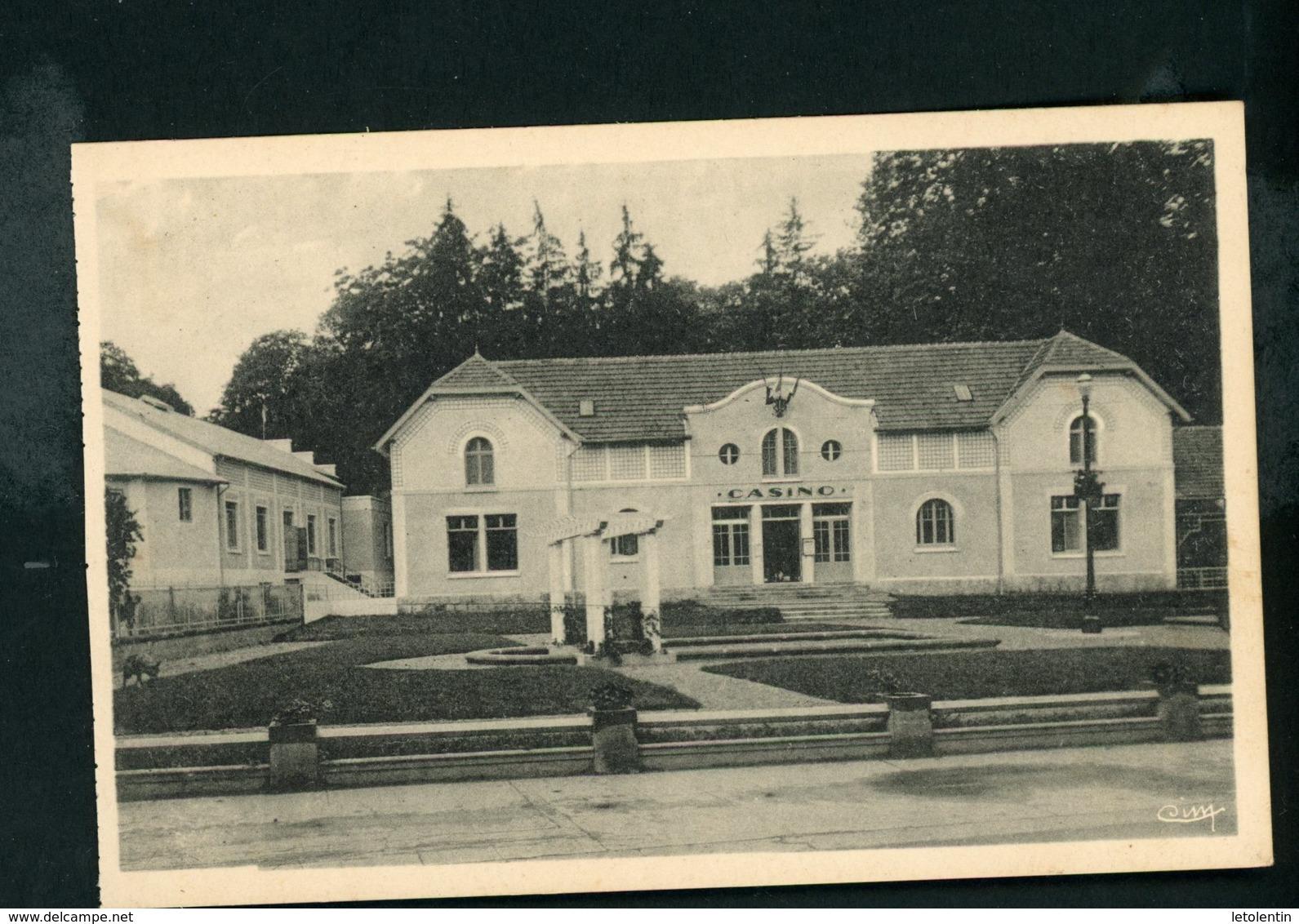 CPA: 71 - BOURBON-LANCY - LE CASINO - France