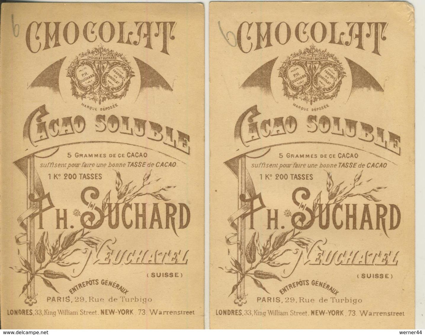 H. Suchard --  2 Sammelbilder  (52604) - Suchard