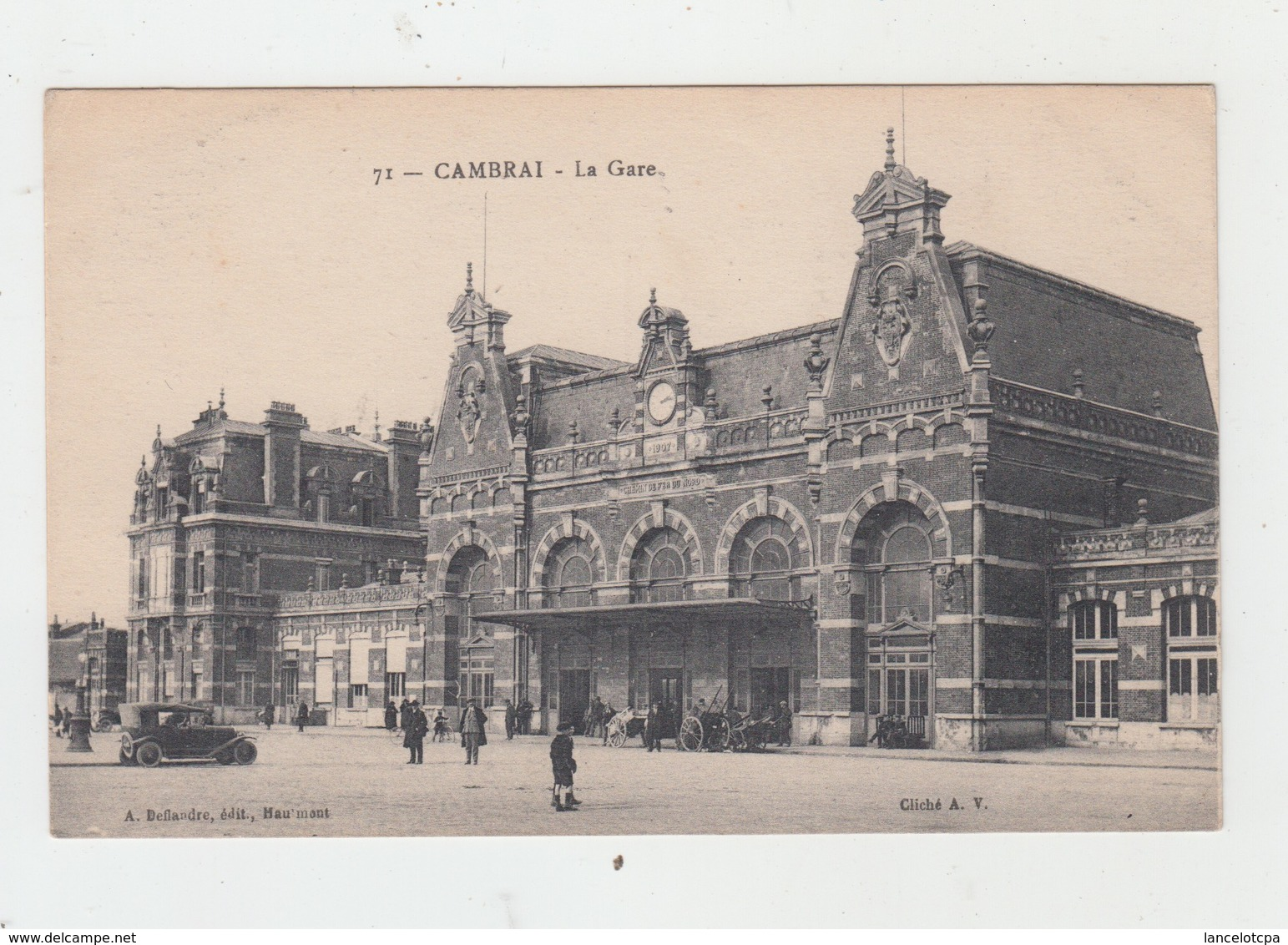 59 - CAMBRAI / LA GARE - Cambrai