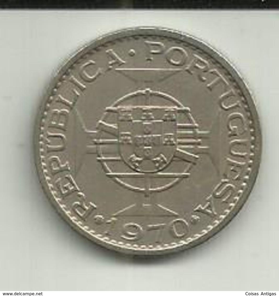 5 Escudos 1970 Timor - Timor