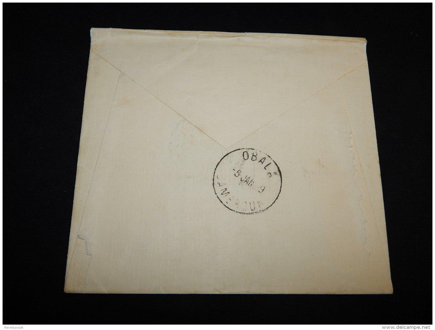 Cameroon 1938 Douala Cover__(L-14198) - Storia Postale