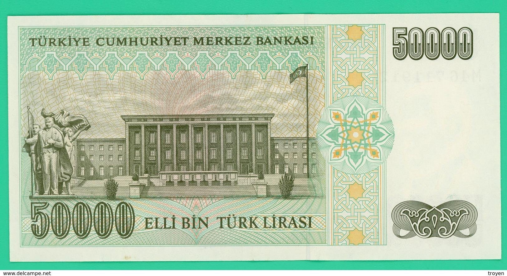 50000 Lirasi - Turquie - N°. M46711912 - SPL - - Turquie
