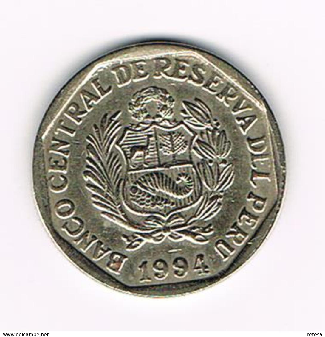 &  PERU  UN NUEVO  SOL  1994 - Peru