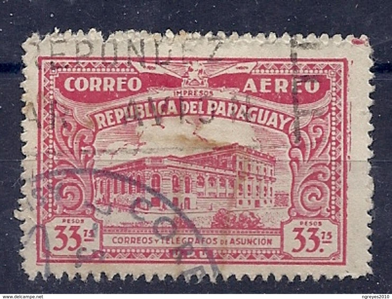 180029761  PARAGUAY  YVERT  AEREO  Nº  68A - Paraguay