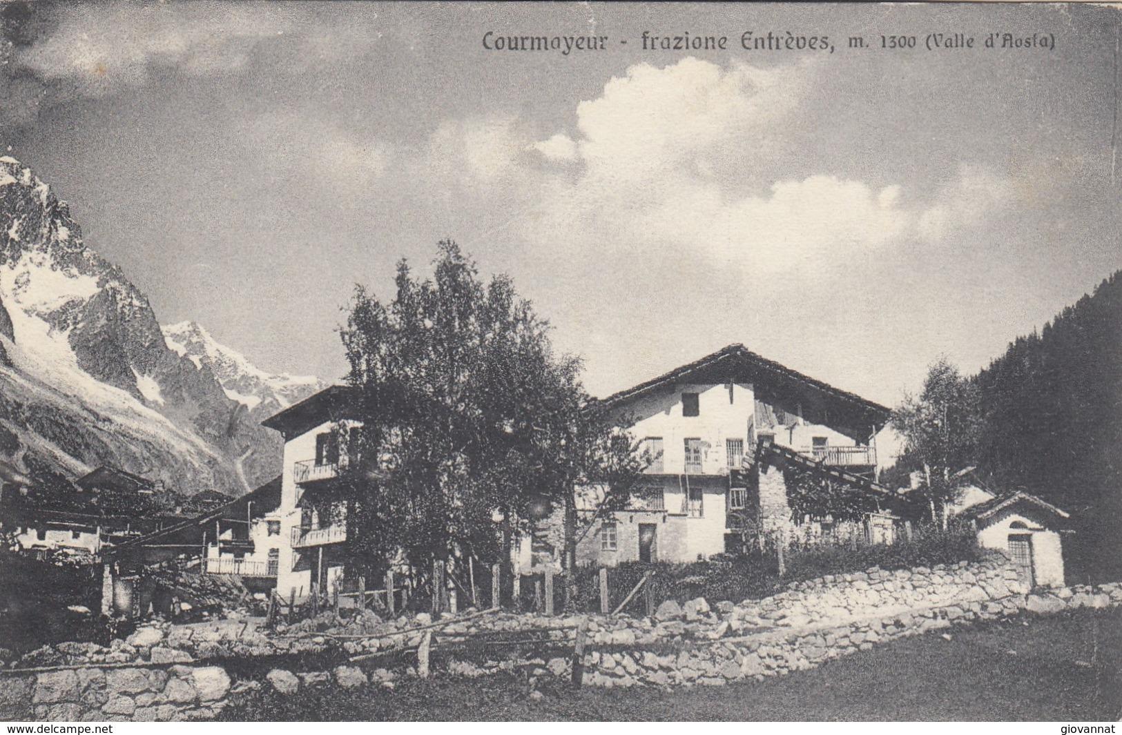 COURMAYEUR -VEDUTA- - Aosta