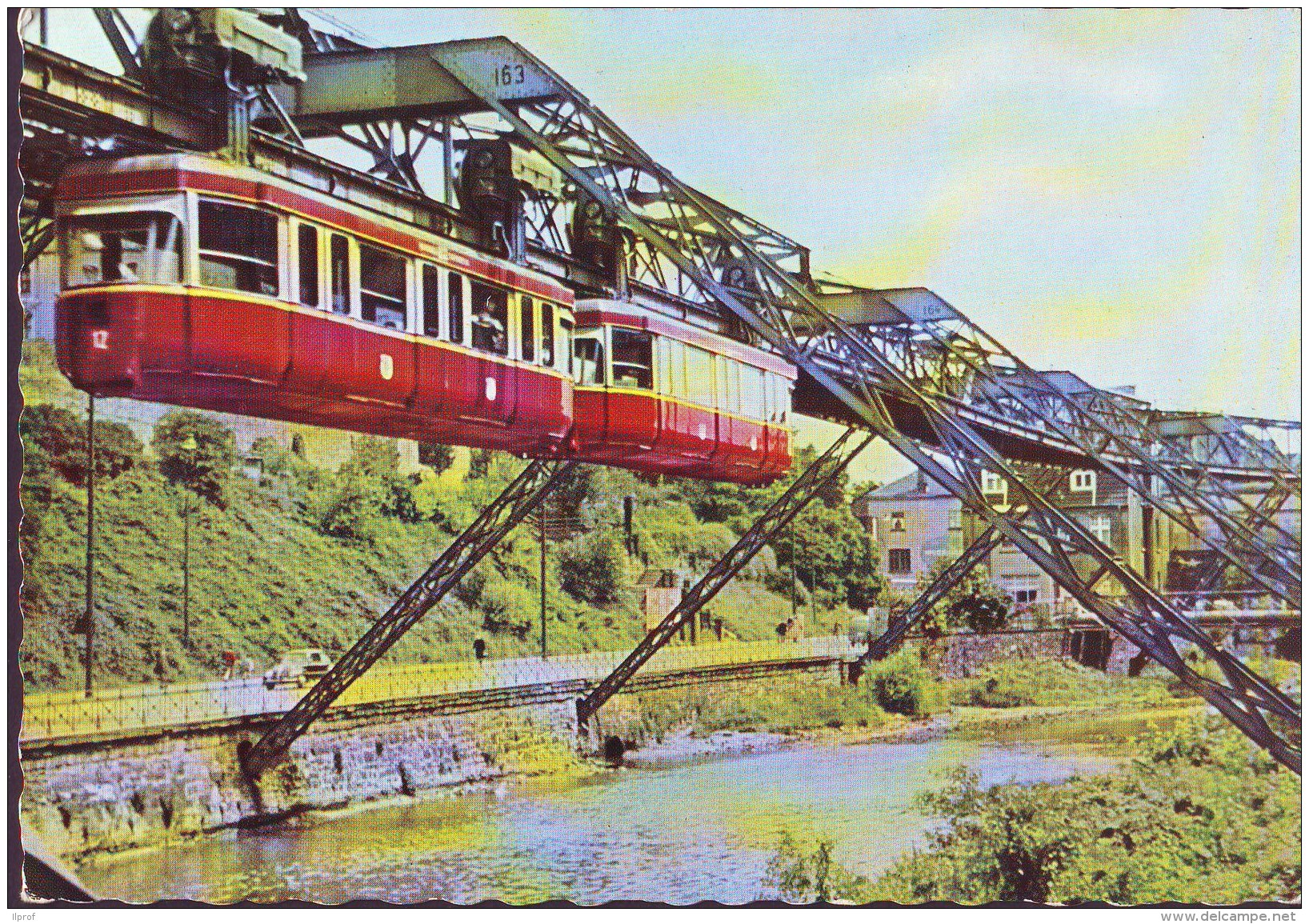 Monorotaia In Wuppertal (Germania) - Trains