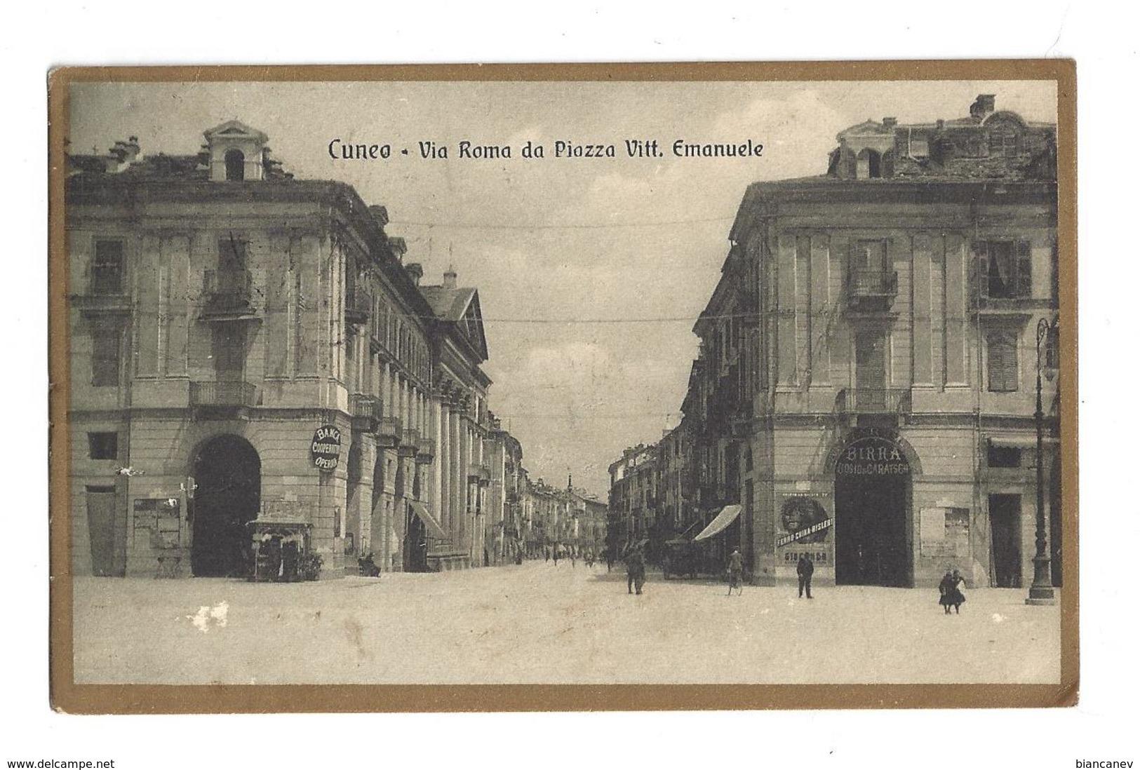 CARTOLINA DI CUNEO - 1 - Cuneo