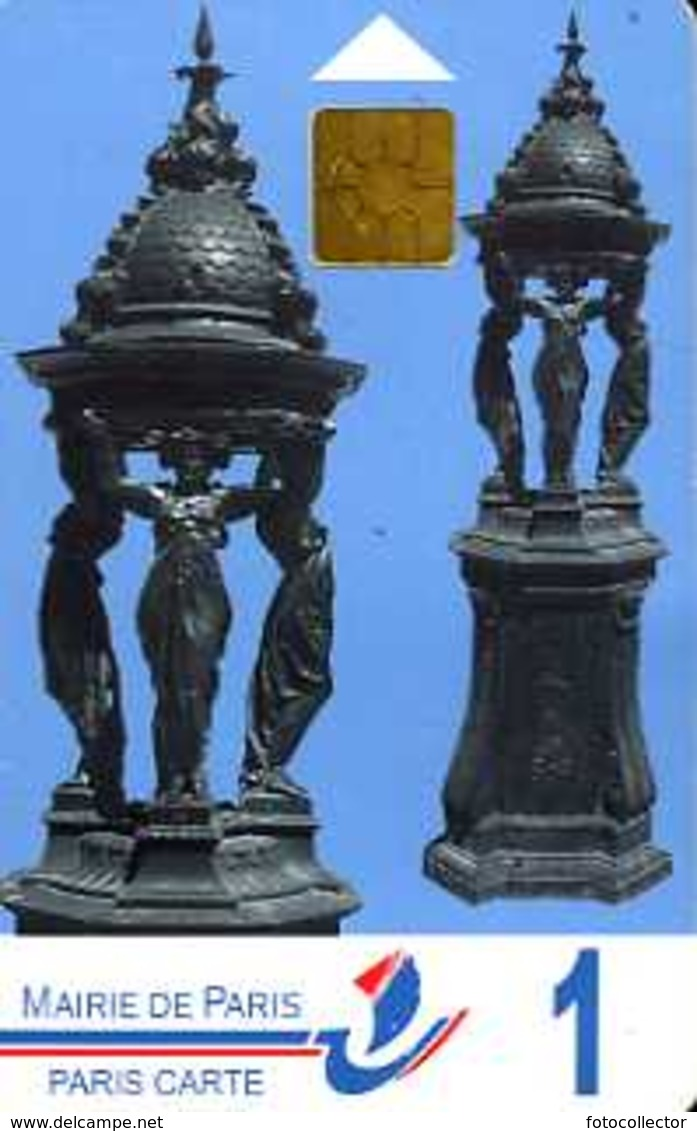 Carte De Stationnement Paris Carte 1 : Fontaines Wallace - Other