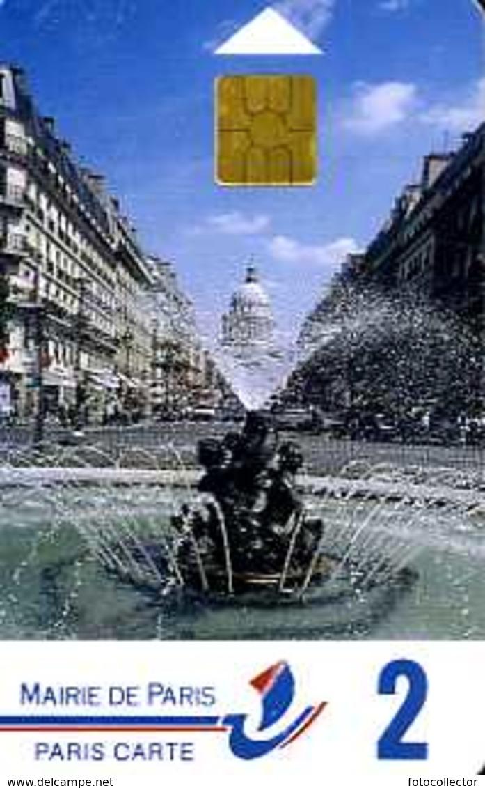 Carte De Stationnement Paris Carte 2 : La Fontaine Edmond Rostand - Sonstige