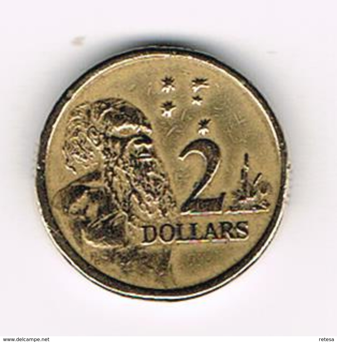 &   AUSTRALIE  2  DOLLARS  1988 - Monnaie Décimale (1966-...)