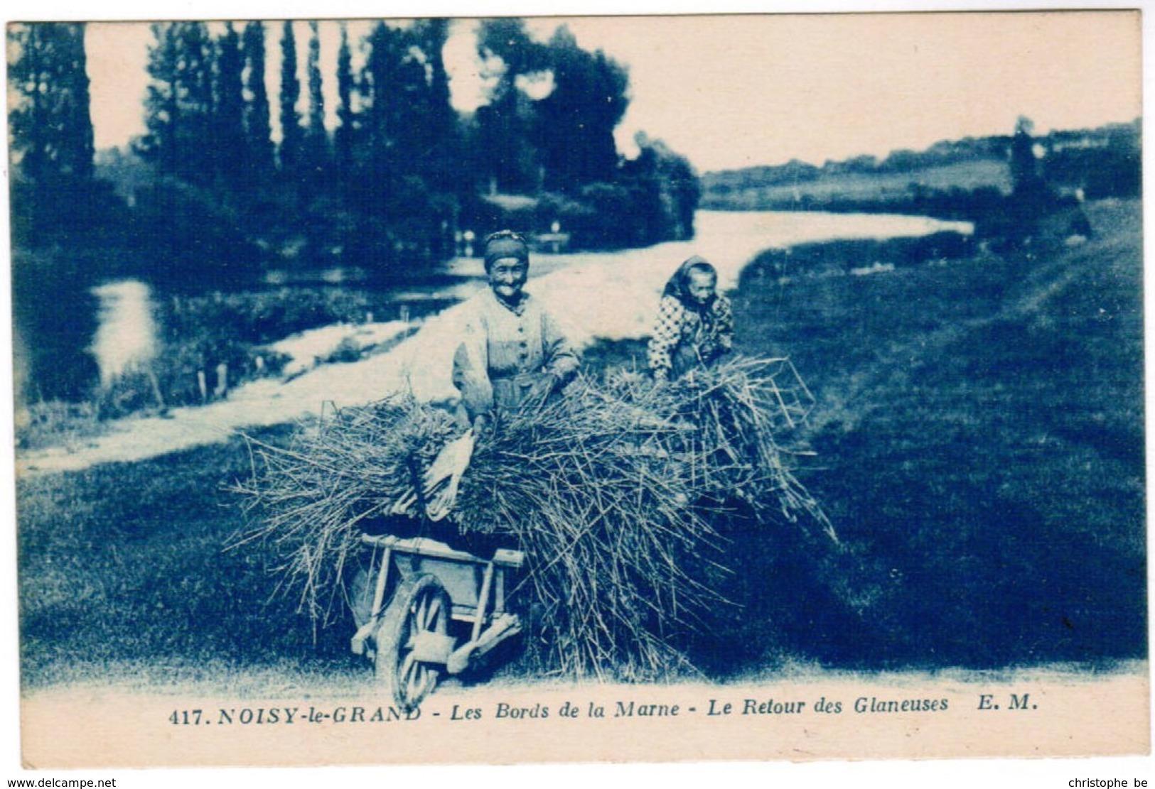 CPA Noisy Le Grand, Les Bords De La Marne, Le Routour Des Glaneuses (pk44819) - Noisy Le Grand