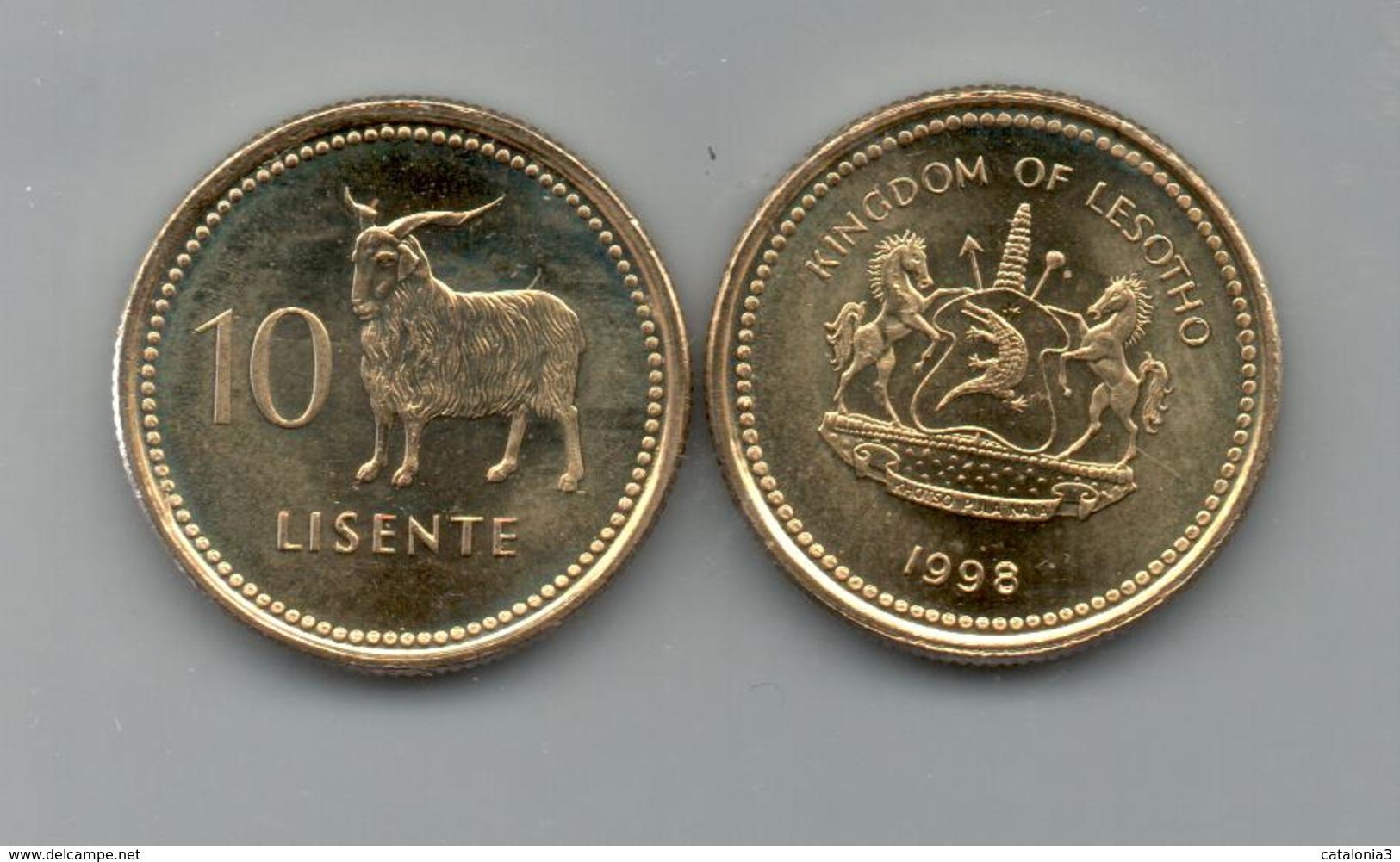 LESOTHO - 10 LISENTE 1998 SC  KM63 - Lesotho