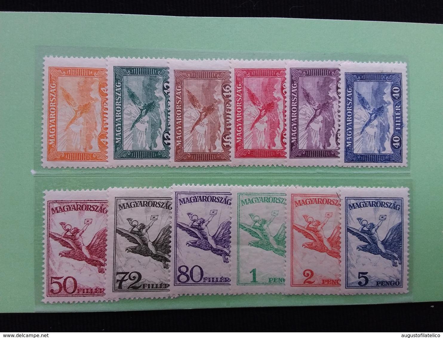 UNGHERIA 1927/30 - Posta Aerea Nn. A12/19 + A20/23 Nuovi * + Spese Postali - Ungheria