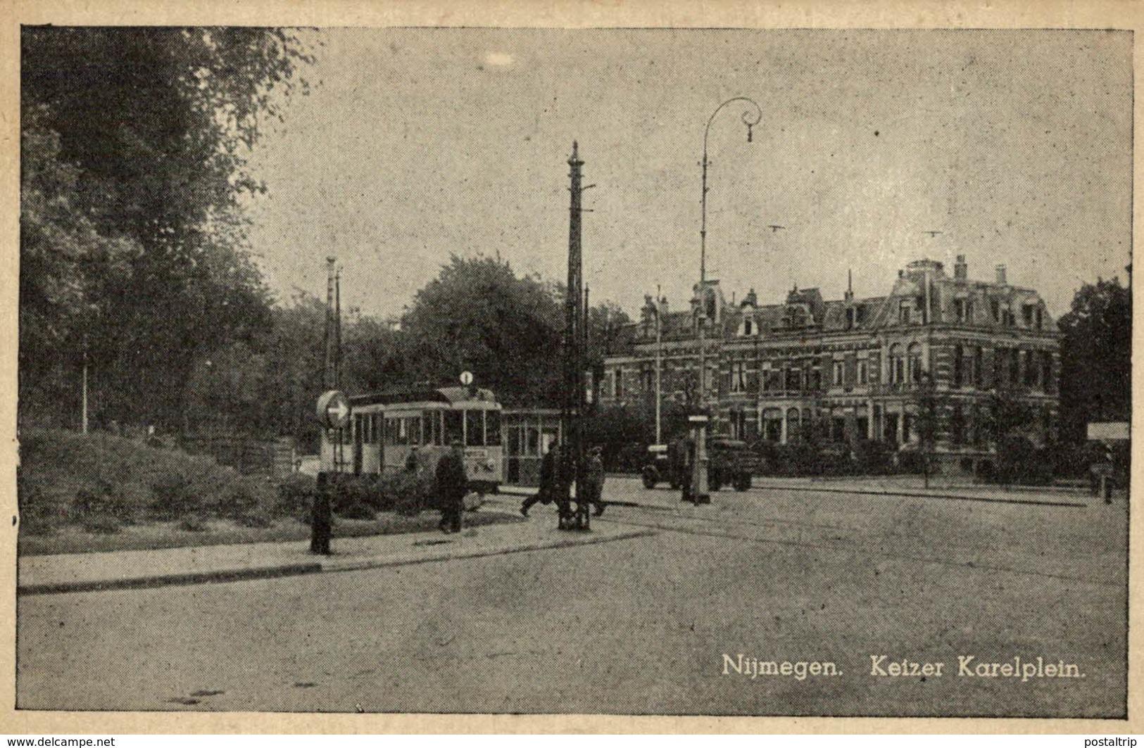 TRAM   NIJMEGEN KEIZER KARELPLEIN - Nijmegen