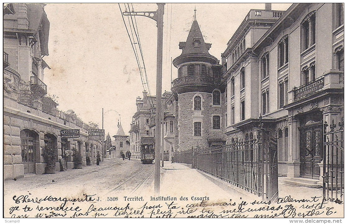 167467....TERRITET, Institution Des Essarts - VD Waadt