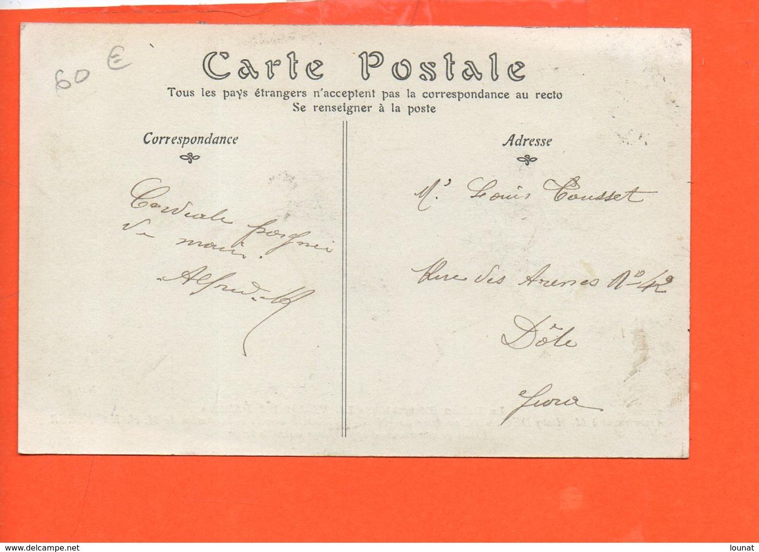 """Le Ballon Dirigeable """" La Ville De Paris"""" Appartenant à M. Henry DEUTSCH Construit Par M. E. Surcouf - Dirigeables"""