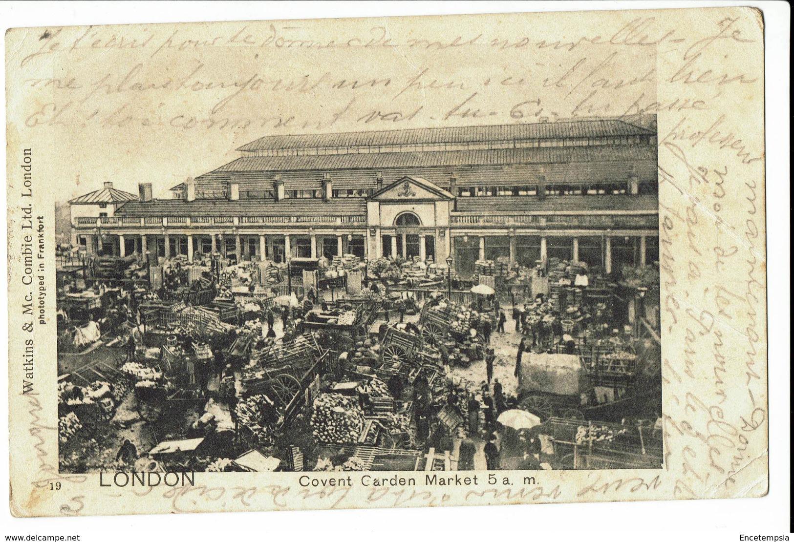 CPA - Carte Postale - Royaume Uni London - Covert Garden Market - 1903  S305 - Other