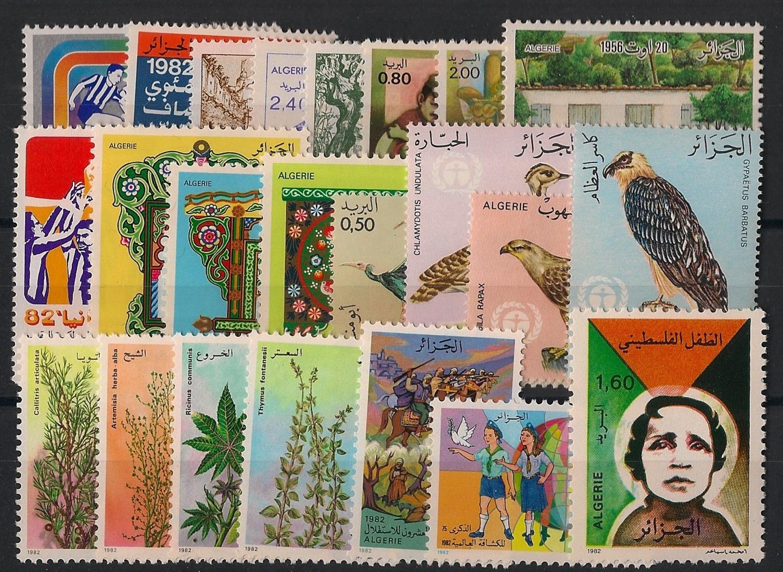 Algérie - Année Complète 1982 - N°Yv. 753 à 775 - Neuf Luxe ** / MNH / Postfrisch - Algerien (1962-...)