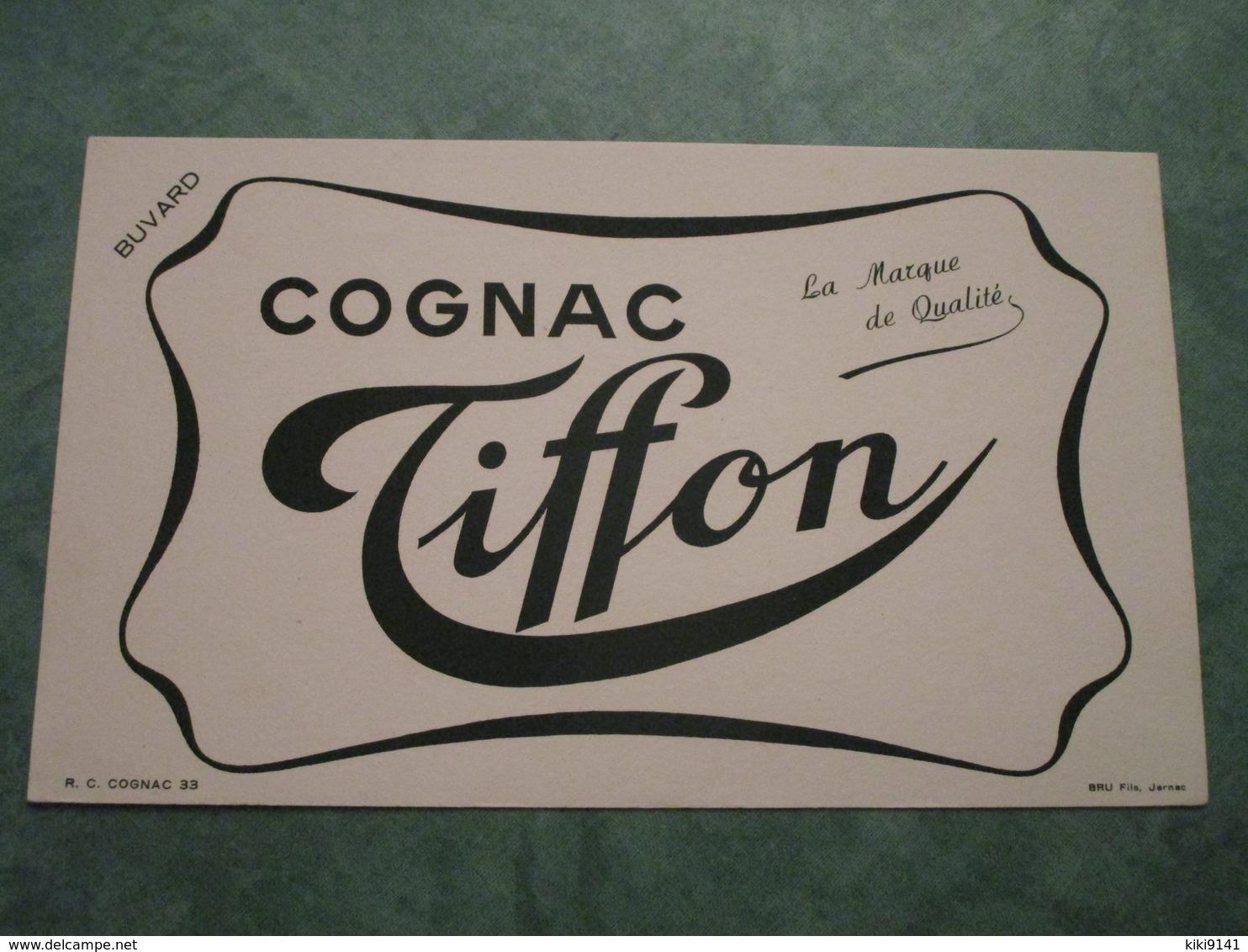 Cognac TIFFON - La Marque De Qualité - Buvards, Protège-cahiers Illustrés