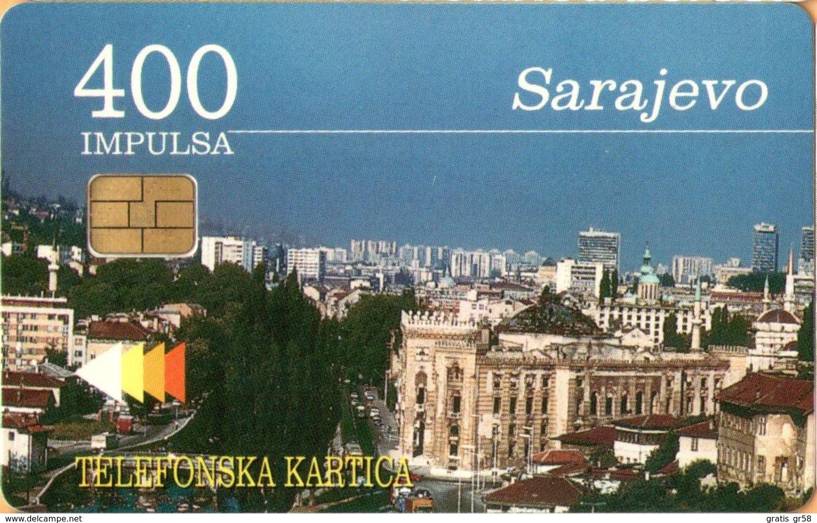 Bosnia - BA-PTT-0005, Sarajevo,1997, Used As Scan - Bosnia
