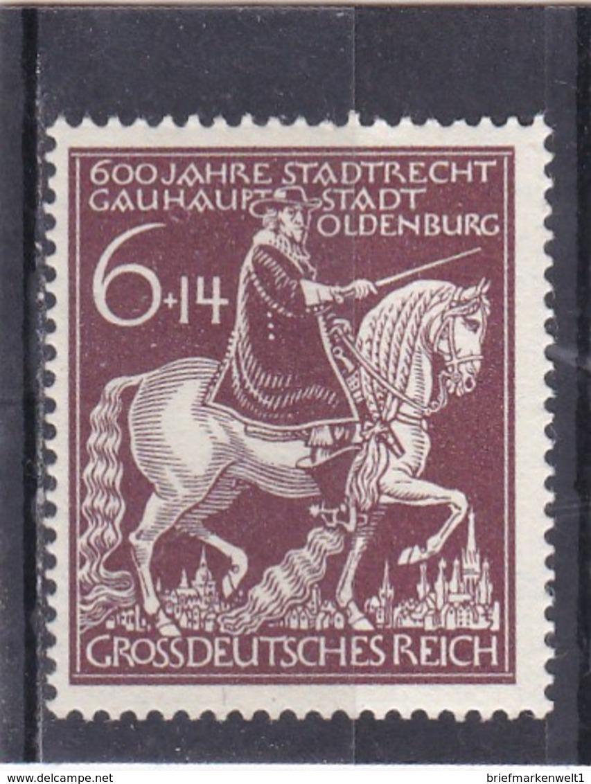 Deutsches Reich, Nr. 907 II**. (T 6155) - Abarten