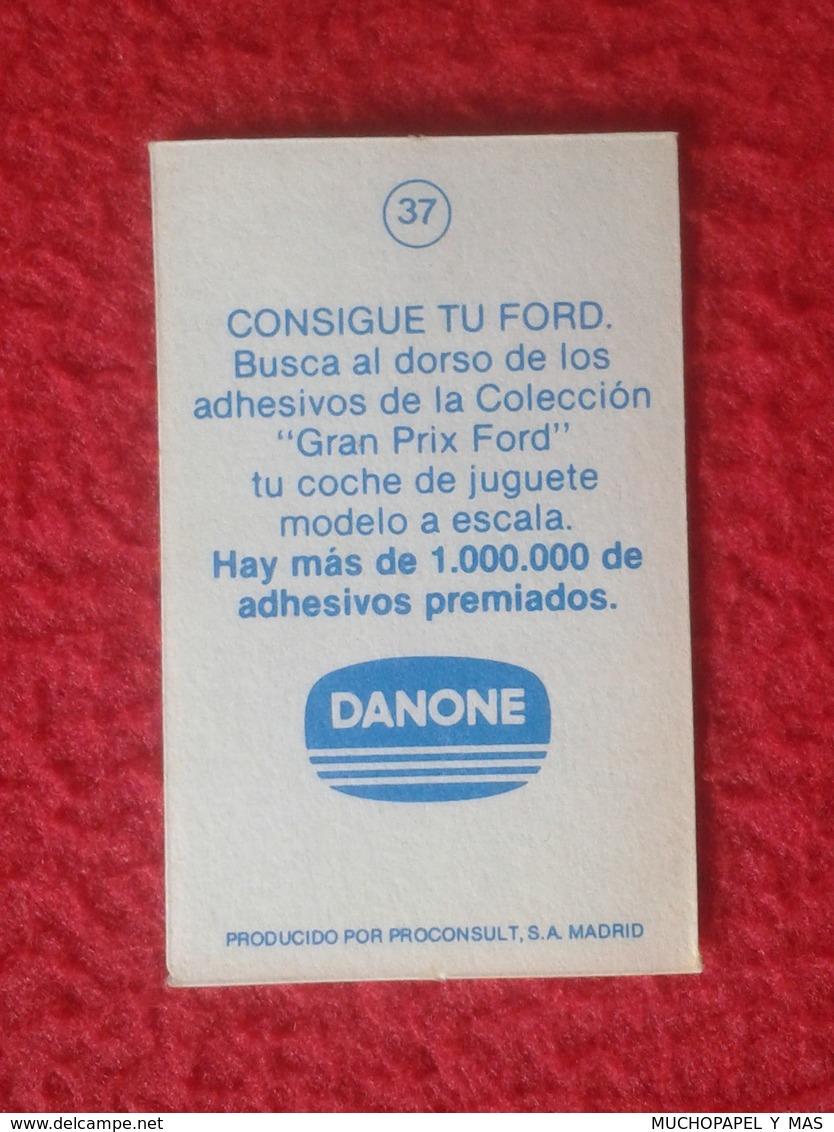 ANTIGUO CROMO DANONE COLECCIÓN GRAN PRIX FORD F1 FÓRMULA 1 G. P. DE BRASIL INTERLAGOS 1979 JACQUES LAFFITE LIGIER JS11 - Cromos