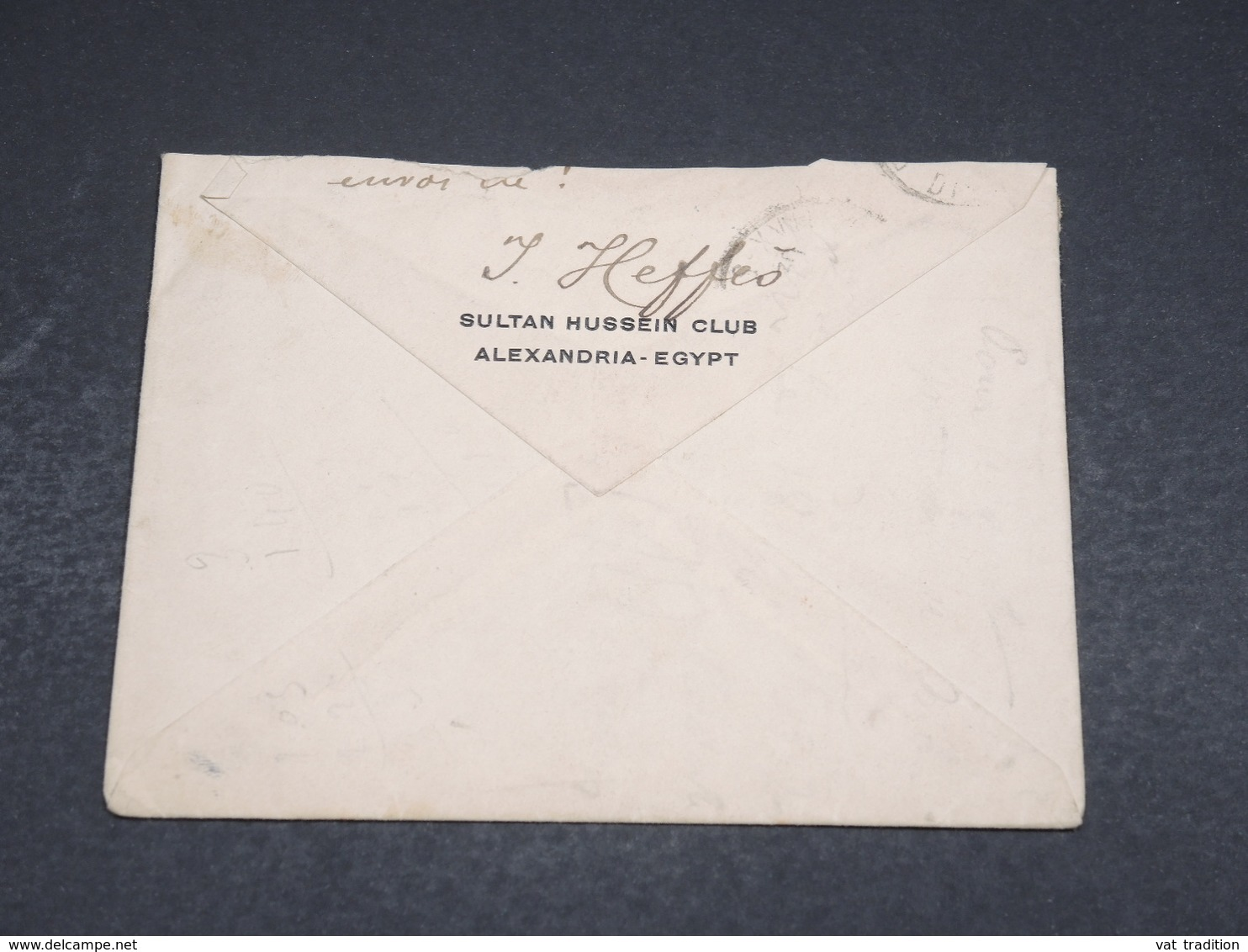 EGYPTE - Enveloppe En Recommandé D 'Alexandrie Pour Paris En 1917 - L 18446 - Égypte