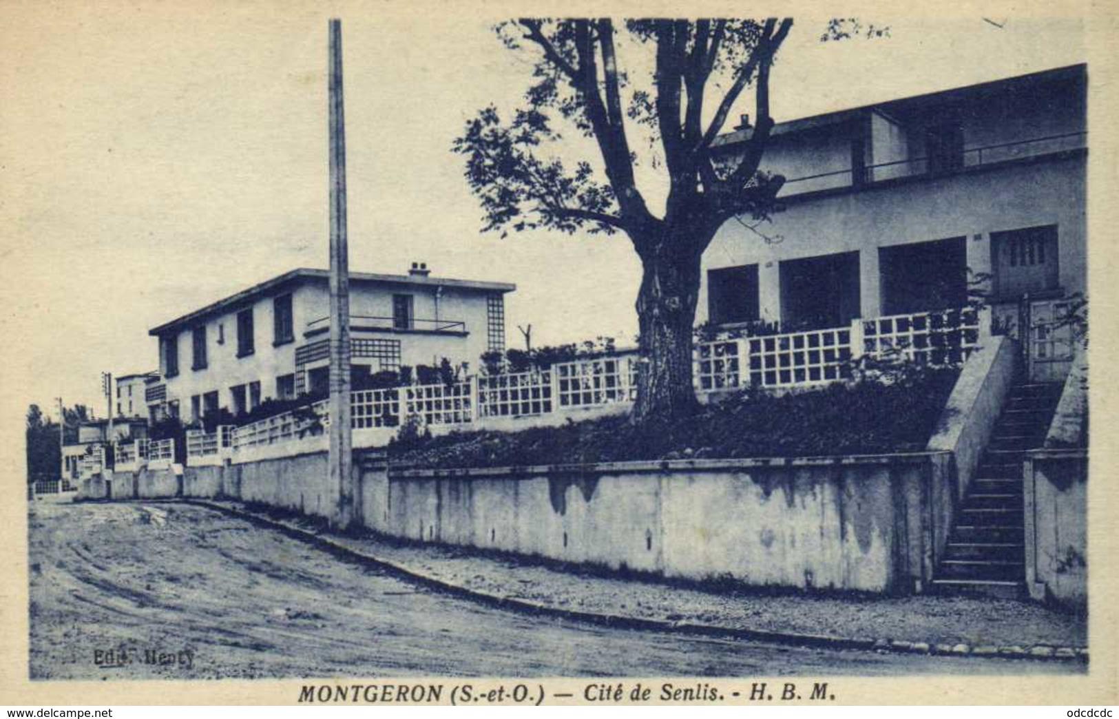 MONTGERON  Cité De Senlis H.B.M. - Montgeron